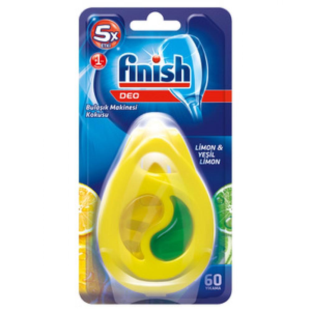Finish Bulaşık Makinesi Deterjanı Makine Kokusu Limon 60 Yıkama